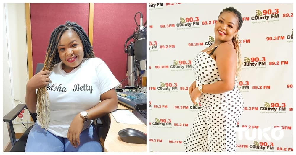 Salsha Betty, a bubbly local radio presenter who walked out of an abusive marriage.