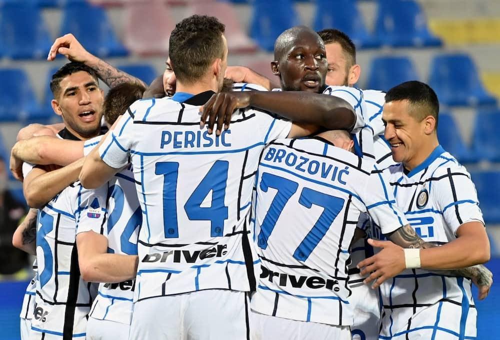 Juventus congratulate new Italian League champions Inter Milan