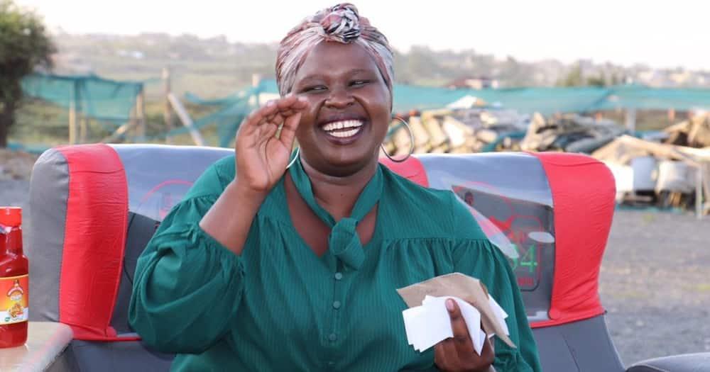 Wacha Uwongo! Jemutai Amjibu Hamo akidai Kukimbia Wanao