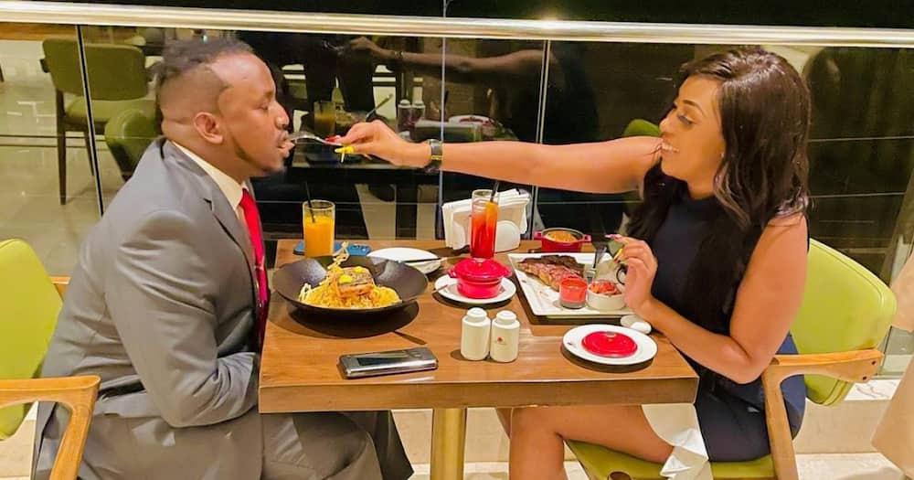 Socialite Amber Ray Confirms She's Matatu Boss Jamal's 2nd Wife, Says She's 70% Happy