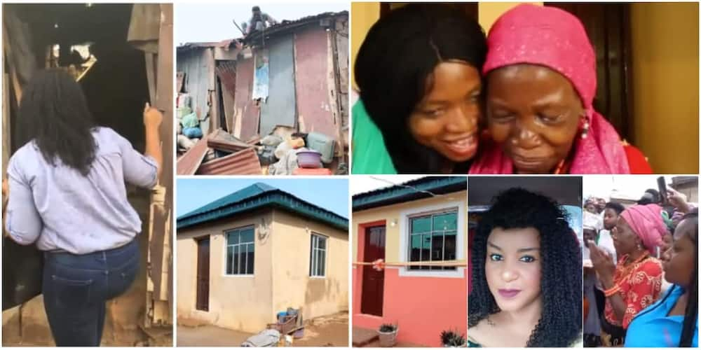 Nigerian pastor builds house for widow abandoned by her son