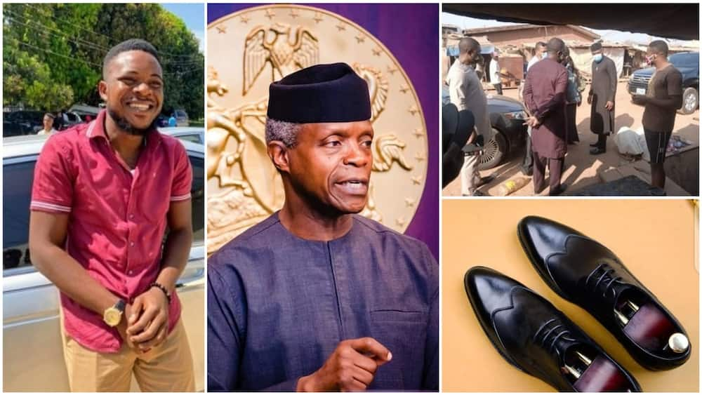 Young Nigerian man becomes Osinbajo after tweeting at him on Twitter