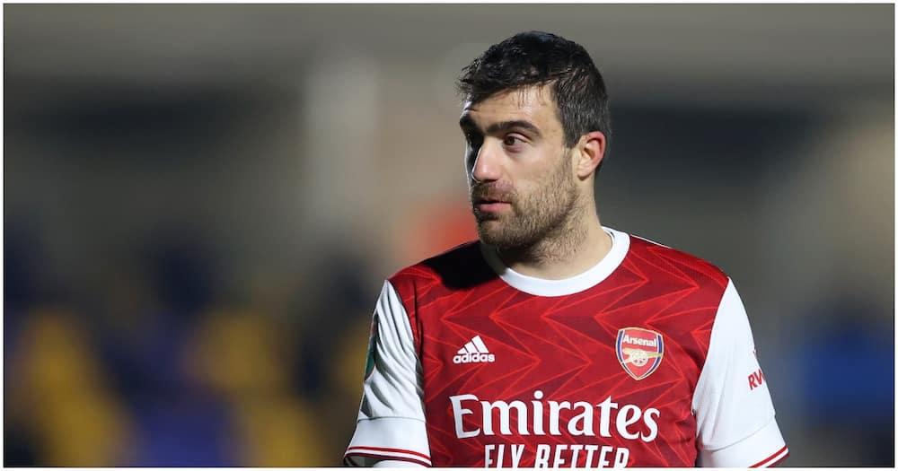 Arsenal agree to terminate Sokratis Papastathopoulos' contract