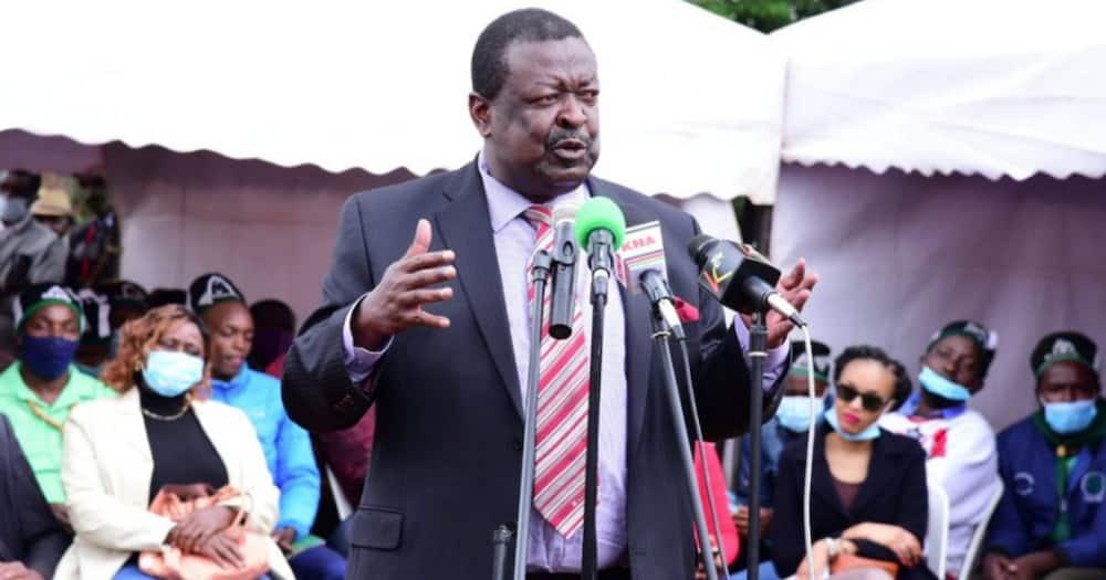 Mudavadi blames Raila for pushing for contested referendum