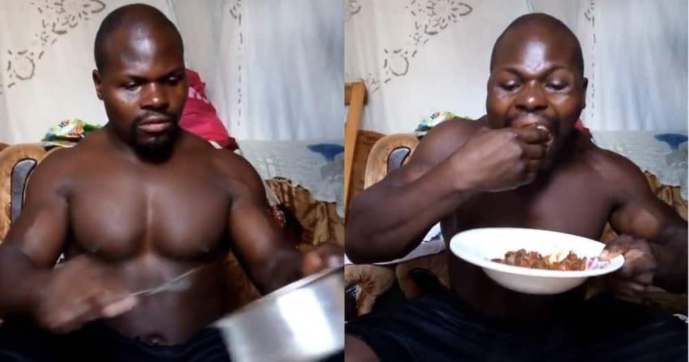 Internet sensation Ugali Man gifted well-furnished fitness center by betting company.