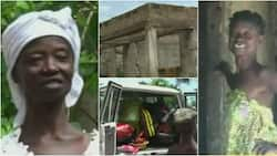 70-Year-Old Ghanaian Woman Living in Mud House with Her 2 Grandkids Receives Clothes, Food and Other Items