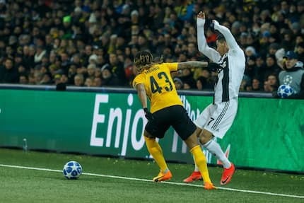 Cristiano Ronaldo in trouble after denying Paulo Dybala a goal against Young Boys in Champions League