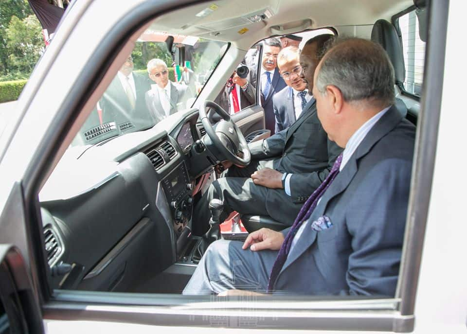 Photos of powerful mahindra vehicles assembled in Kenya
