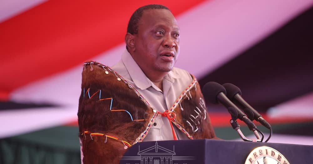 Kenyan man hilariously praises, pleads with Uhuru to lift curfew during address