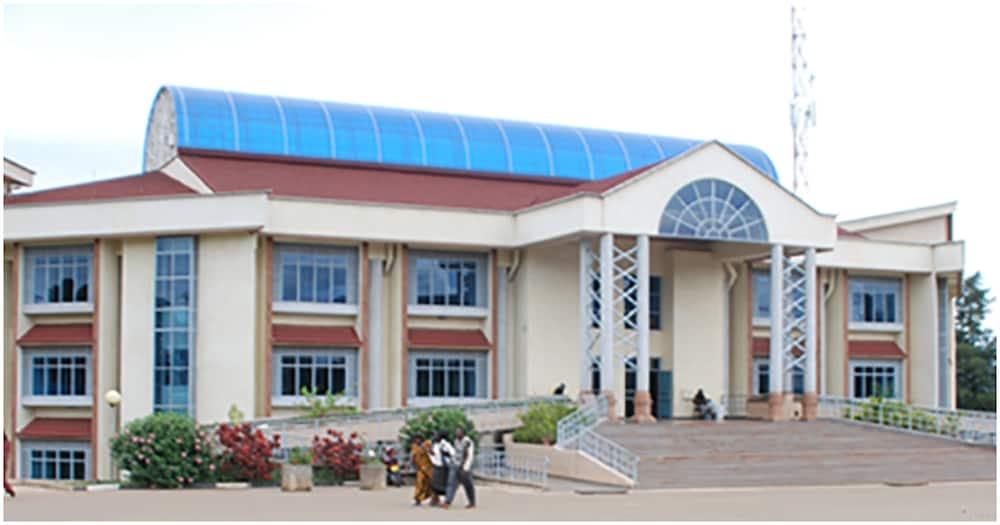 Masinde Muliro University of Science and Technology (MMUST) Library. Photo: MMUST.