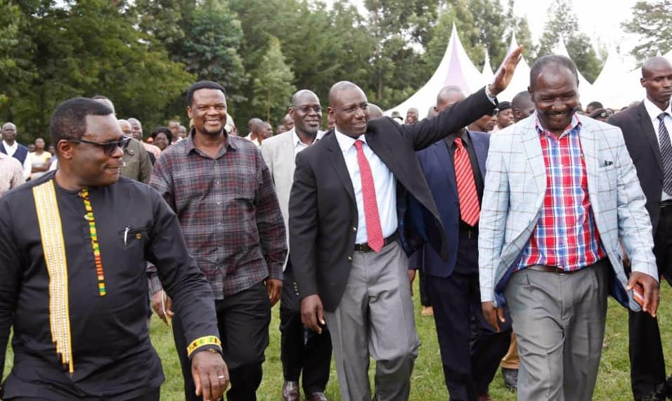 15 Western region MPs throw their weight behind William Ruto's 2022 bid