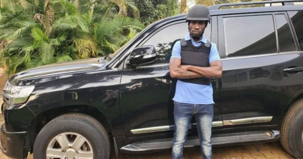 Mombasa businessman who sold bulletproof car to Bobi Wine says he followed right procedure
