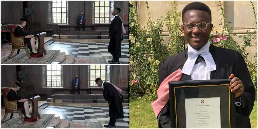Okechukwu Orisakwe recently bagged a master of law