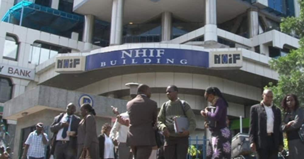 NHIF did not receive contributions from more than 5 million members.