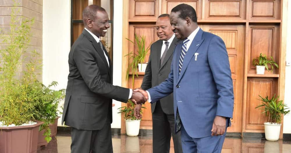 Majority of Kenyans think William Ruto is currently more influential than Raila Odinga