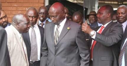 Retired President Daniel Moi leaves hospital after five days