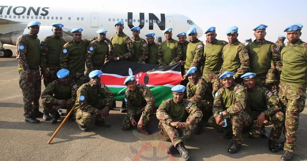 Kenya Defence Forces (KDF) troops. Photo: Kenya Defence Forces.