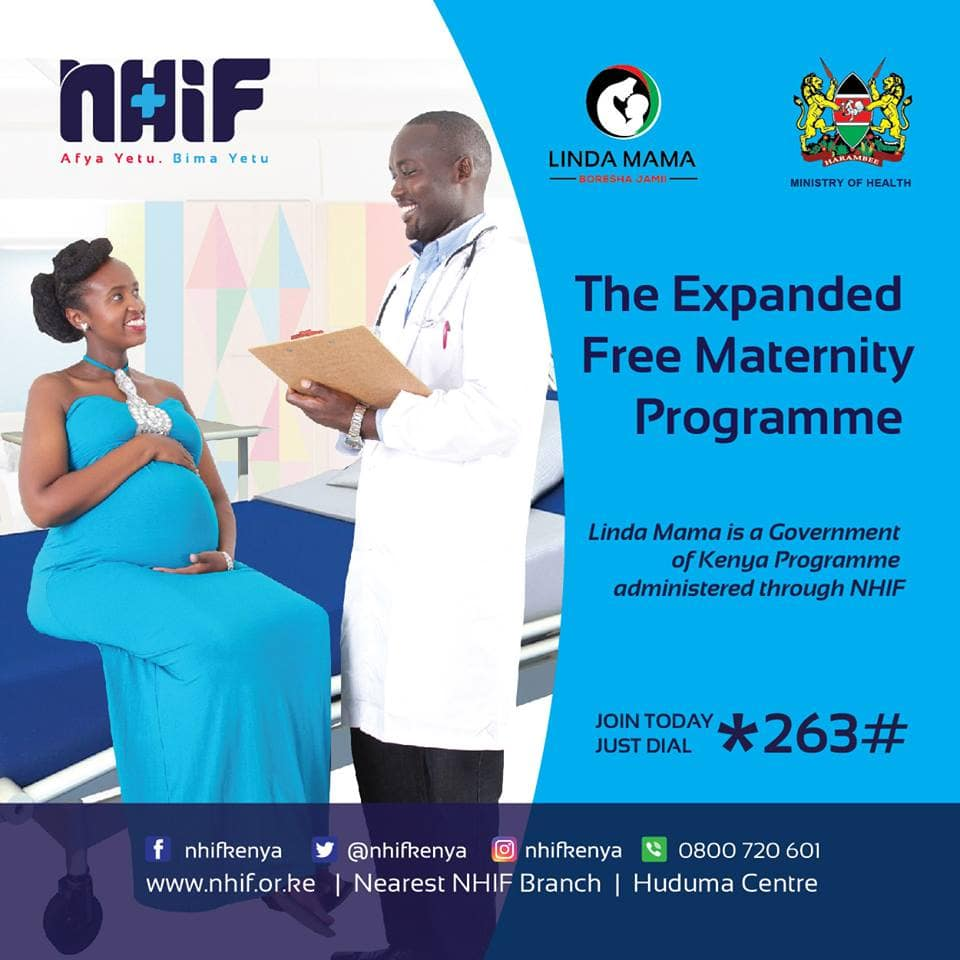 NHIF maternity cover