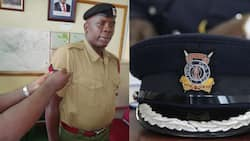 Joash Ombati, cop who single handedly overpowered thugs in Nairobi and recovered KSh 400k promoted