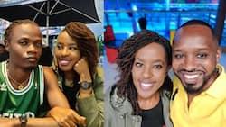 Boniface Mwangi Flaunts Lilian Nganga and Juliani's Pics, Cautions Men Treating Partners Like Possessions