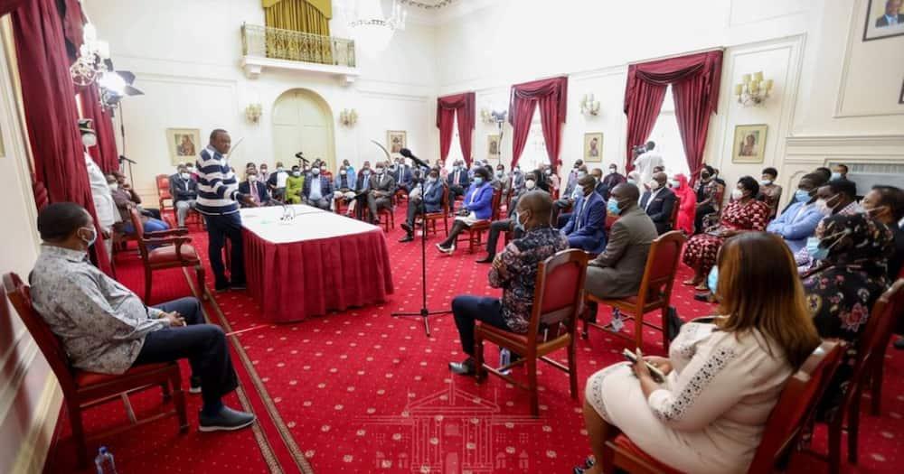 Mpasuko Jubilee: DP Ruto akosa kuhudhuria mkutano wa Rais Uhuru Ikulu