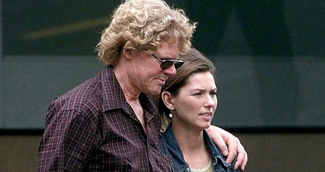 Mutt Lange and Marie-Anne