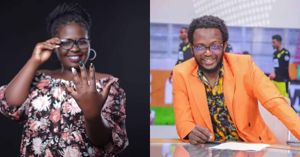 Throwback to Day Jemutai Denied Comedian Prof Hamo Was Her Baby Daddy