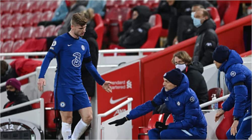 Video of Tuchel scolding Chelsea star for poor positioning during Everton game goes viral