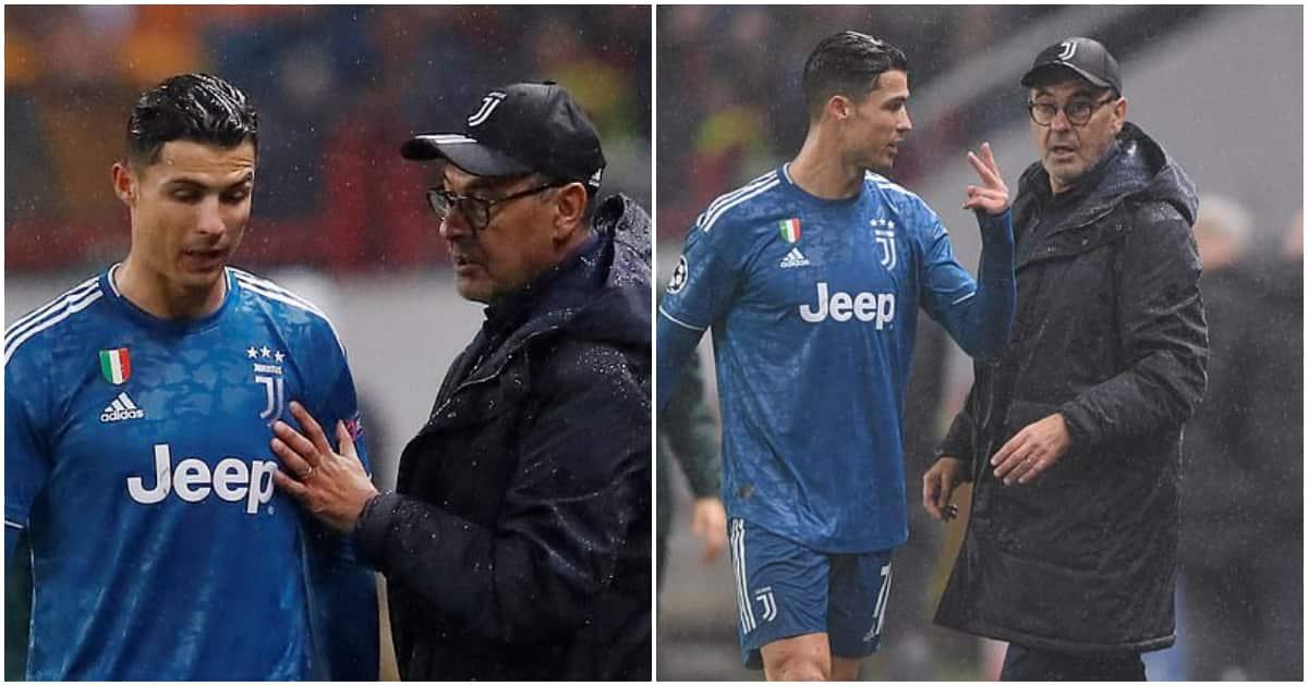 Cristiano Ronaldo says Maurizio Sarri was right to substitute him twice ▷  Tuko.co.ke