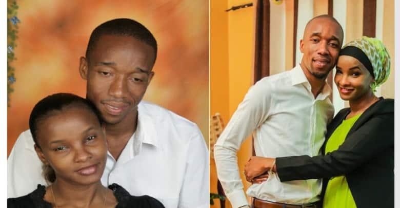 Inspiring tbt photos of Citizen TV anchors Rashid and Lulu Hasan.