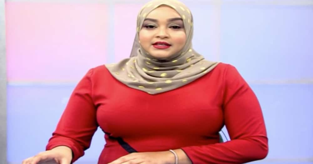 NTV News Anchor Zainab Ismail and hubby wedded in 2020.