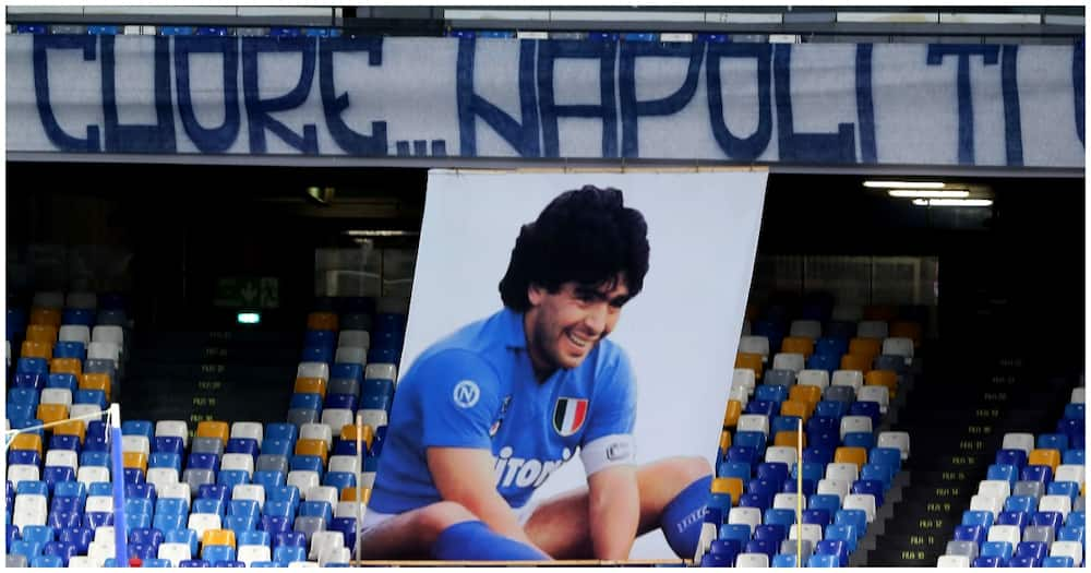 Diego Maradona: Napoli rename their stadium after the Argentine football legend