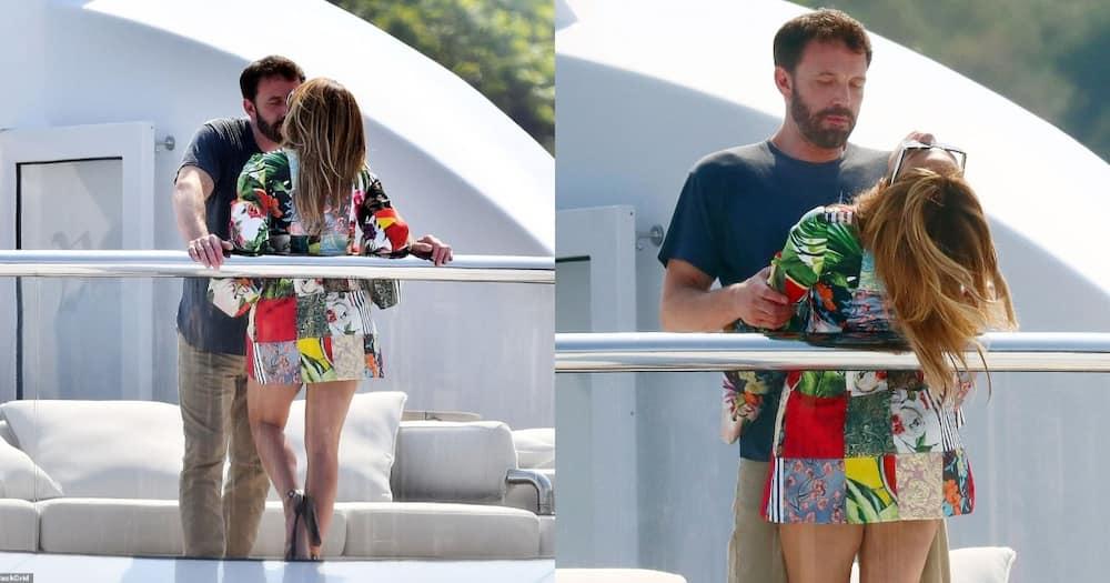 Jennifer Lopez and Ben Affleck.