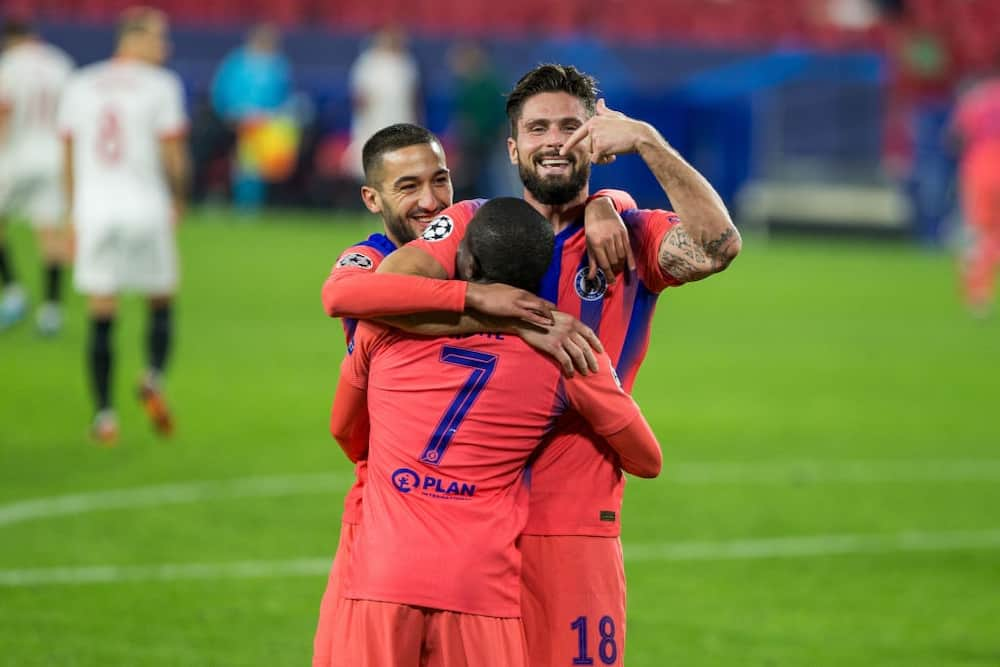 Olivier Giroud becomes oldest player to score hattrick in Champions League match