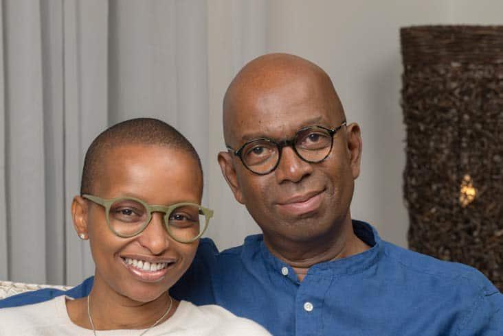 Wambui Kamiru celebrates husband Bob Collymore's birthday with light-hearted post