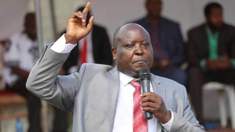 Nakuru Town West MP Samuel Arama believes Fred Matiang'i should be Kenya's next president