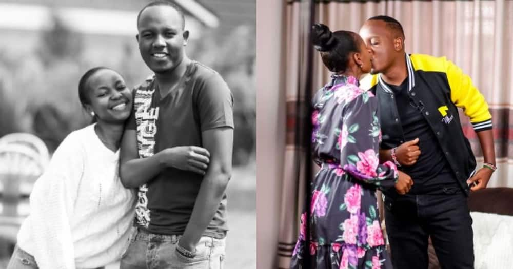 Love exists: Abel Mutua, wife Judy keep spark alive in adorable couple goals photo
