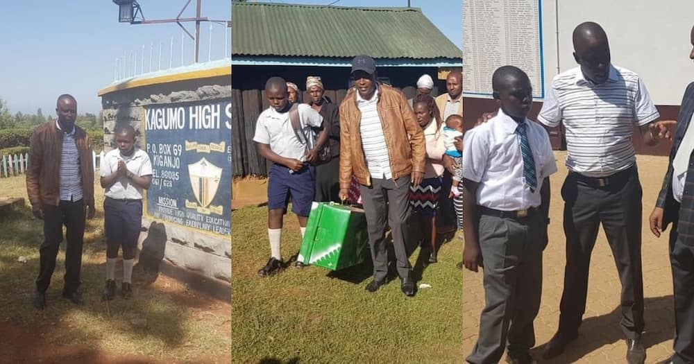KCSE: MP Kanini Kega Overwhelmed with Joy after Boy He Sponsored Scores Straight A