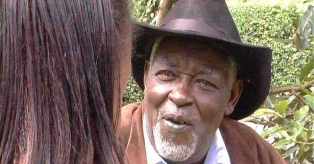Actor Mzee Mathiokore has died. Photo: Rose Nyabhate.