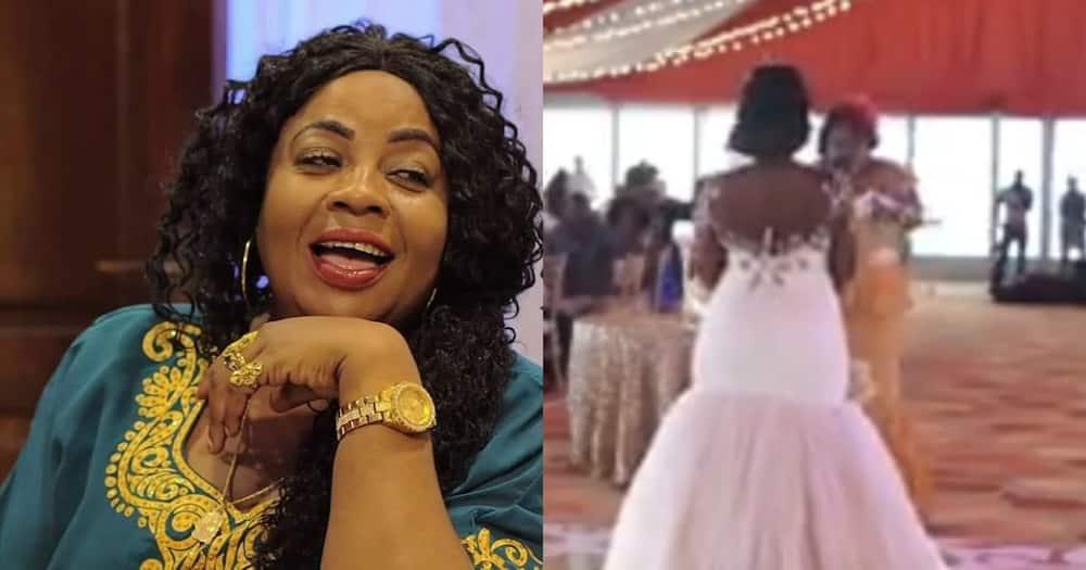 Wedding MC advises bride to shake her backside whenever she serves her husband's food