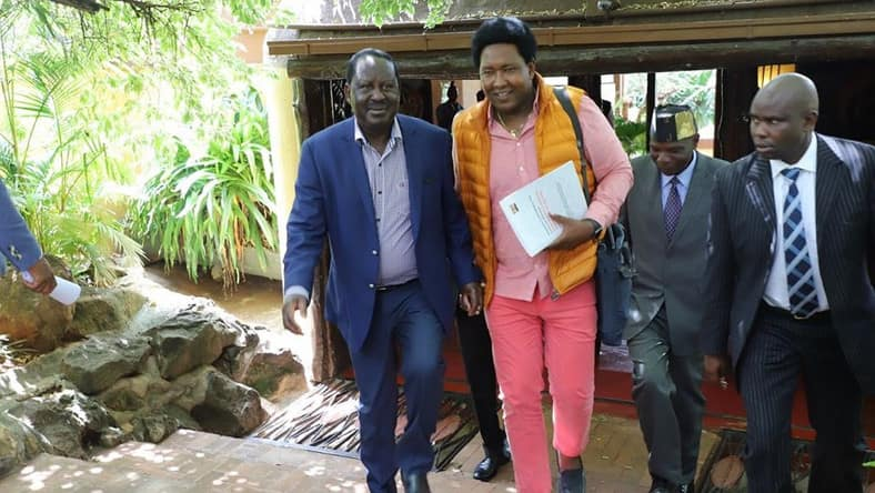 Opinion: Ole Kina's timely truce with Raila offers handy lesson for Jubilee Party rebels