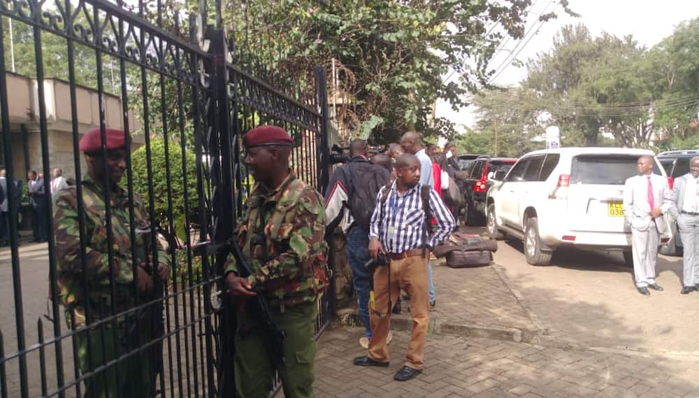 Daniel Moi: Body of former president moved to Lee Funeral Home, facility placed under GSU guard