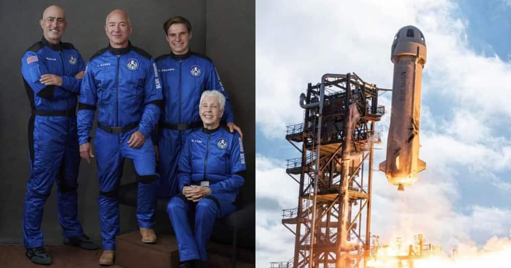 Jeff Bezos, Space, Rocket Ship, New Shephard.