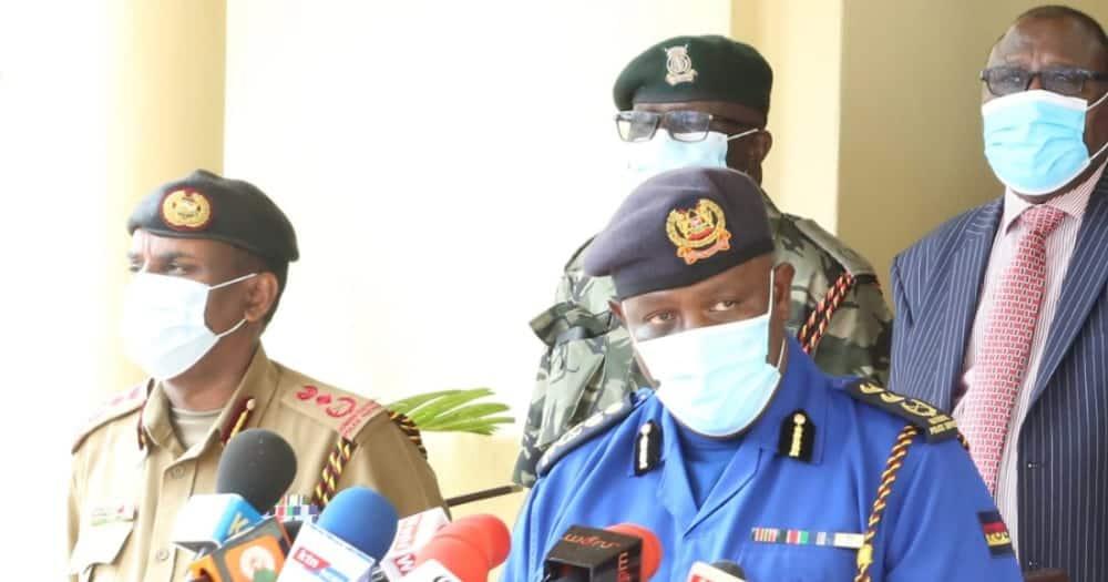 Inspector-General of Police Hilary Mutyambai. Photo: Hilary Mutyambai.
