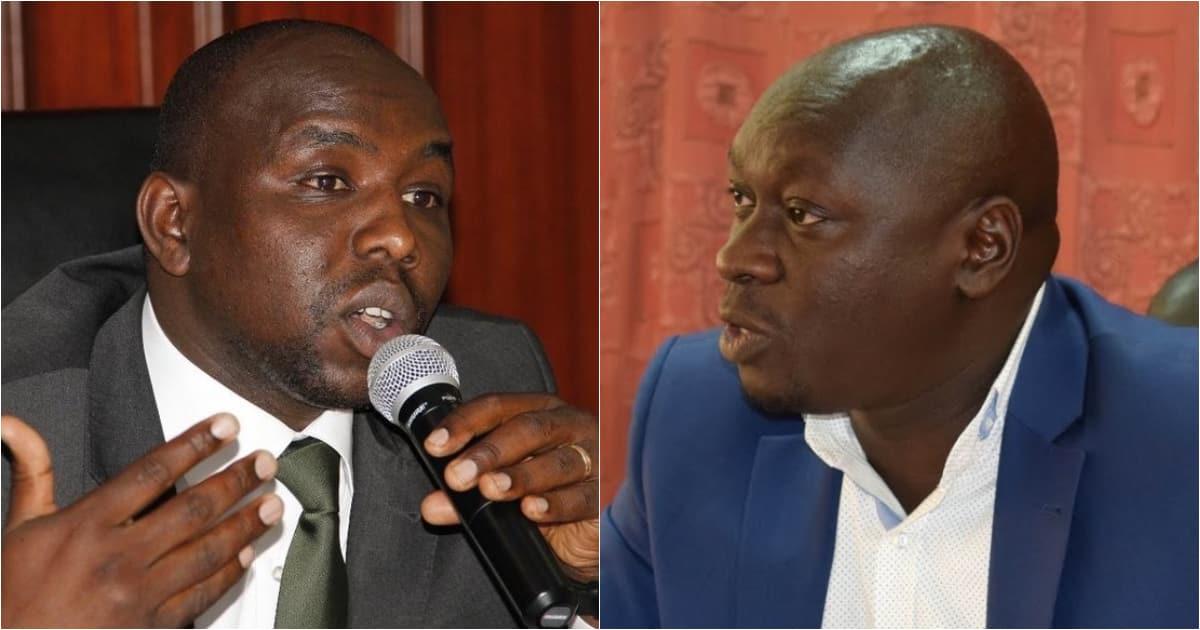 Kipchumba Murkomen adai Joshua Kutuny anachunguzwa na FBI kwa ulanguzi wa dawa za kulevya