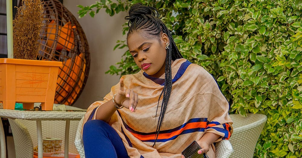 Kenyan Singer Betty Bayo stressed the importance of peace of mind.