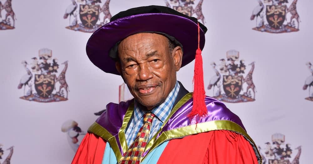 Former Samburu West MP Simon Lesirma was among 79 PhD graduands.