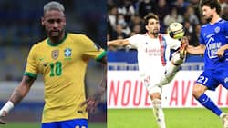 The Beautiful Game Is Over: Neymar Fumes as Lyon Star Is Booked for Trying Rainbow Flick