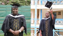 God's Time: Man Who Sat for KCPE 9 Times, Spent 22 Years in Primary Schools Finally Graduates with Degree from KU