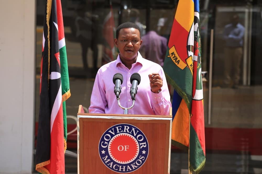 Governor Alfred Mutua at a previous function